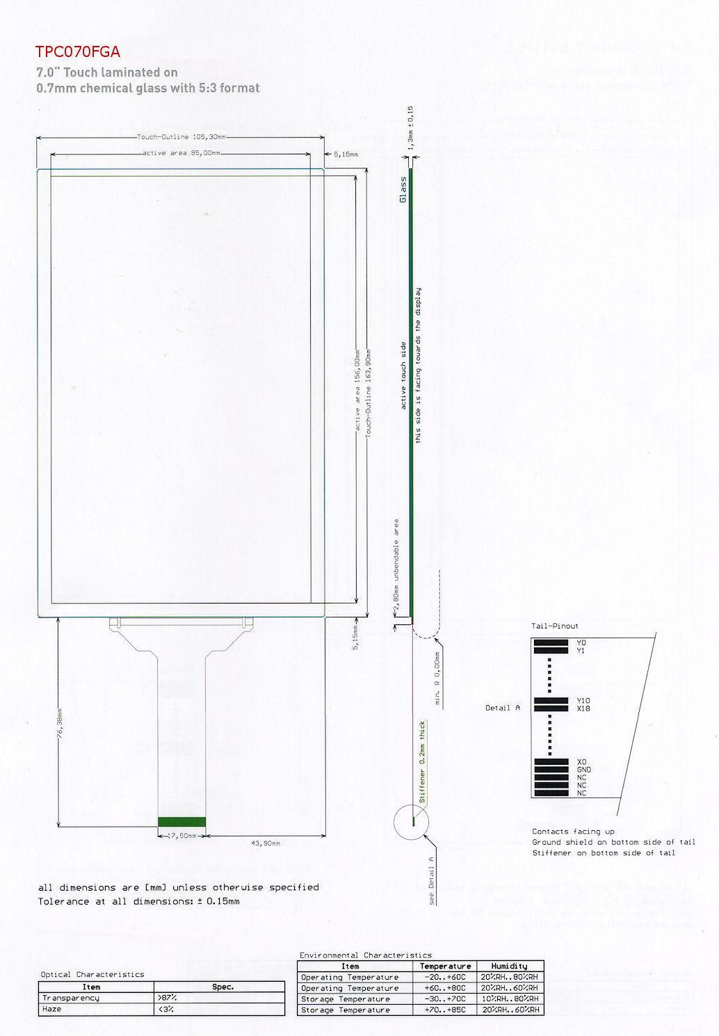 ismart noritake itron 3 5 u0026quot  tft module